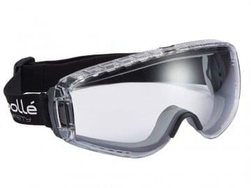 PILOT PLATINUM® Ventilated Safety Goggles - Clear